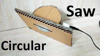 How to make circular saw at home