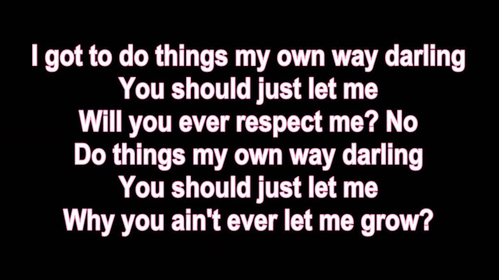Lyric love rihanna lyrics : Consideration - RIHANNA LYRICS - YouTube