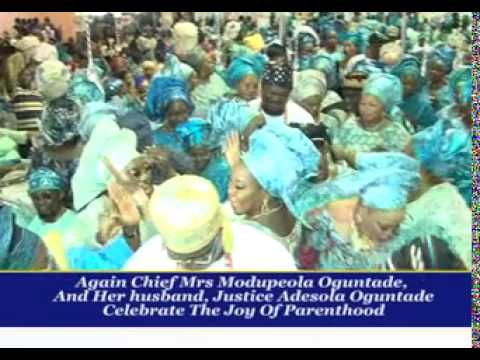 FORMER JUSTICE OF NIGERIA'S SUPREME COURT, JUSTICESOLA OGUNTADE'S SON WEDS IN LAGOS