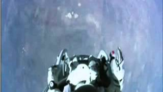 "FELIX Baumgartner - FREE FALL - WORLD RECORD With Music by Peter Schilling ""Major Tom, Coming Home."""