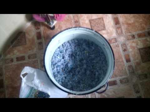 Как сделать жидкие обои в домашних условиях из бумаги видео