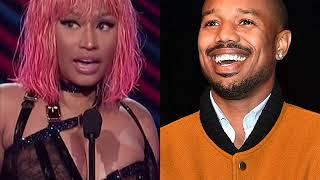 Nicki Minaj now clout chasing Michael B. Jordan