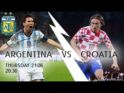 Argentina vs. Croacia: Horario argentina vs croatia