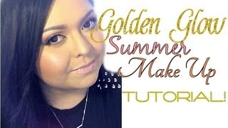 Look: Golden Glow (Full Face Summer Make Up) Thumbnail