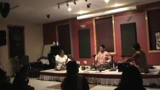 Hindole Majumdar (Tabla) in concert with  Vocalist Sanjoy Banerjee