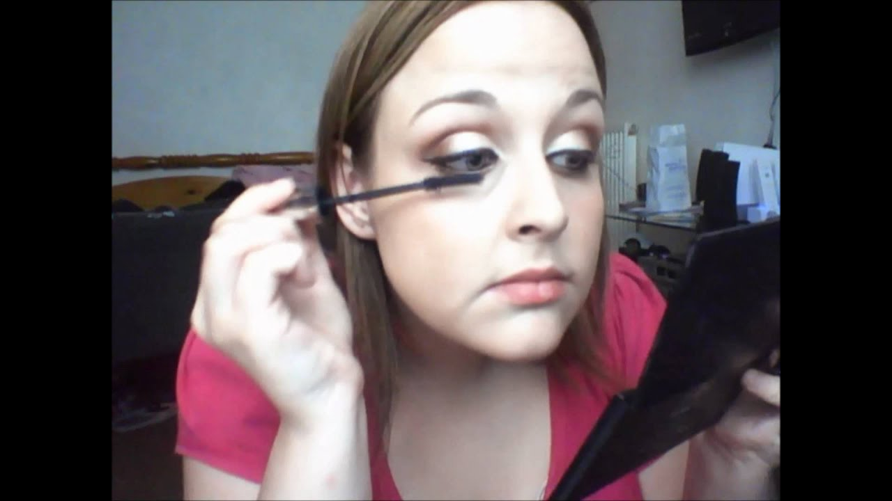 Kim Kardashian Brown Smokey Eye Makeup Tutorial - How-To ...