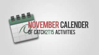 CATCH2T15 - Calendar of Activities (November 2013)