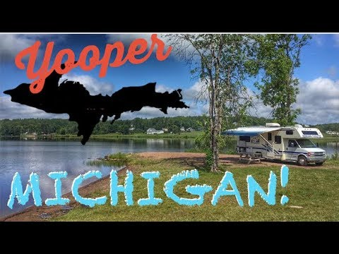 Finally... Michigan's Upper Peninsula! Beautiful!