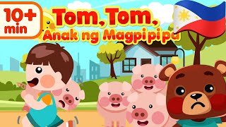 Tom, Tom the Piper's Son in Filipino | Awiting Pambata Compilation