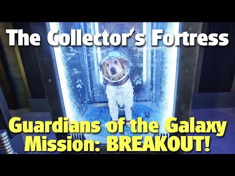 Guardians of the Galaxy - Mission: BREAKOUT! Collector's Fortress Tour | Disney California Adventure