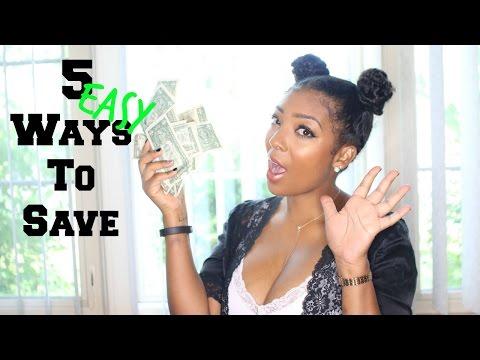 Five Easy Ways To Save Money Money Mondays