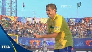 Brazil win battle of the greats