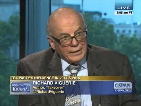 Richard Viguerie, Author of Takeover, Discusses the Tea Party and elections for 2014 and 2016