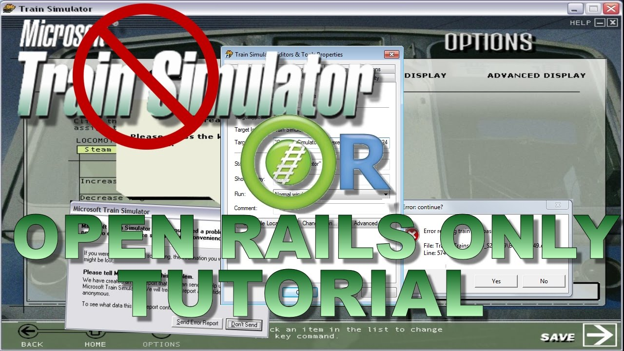 Open Rails Without MSTS Installed