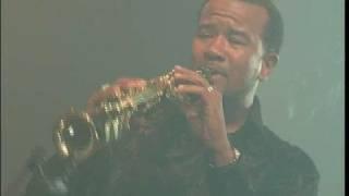Bajan Sunset~Elector Pearson on the sax~Masterpeace CD Launc