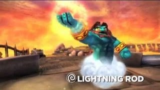 Skylanders : Sunburn, Lightning Rod and Zook