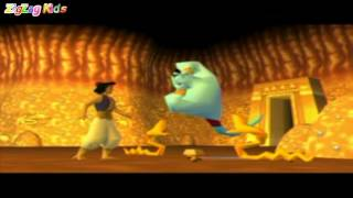 Скачать Aladdin Nasira S Revenge All Cutscenes Movie Game ZigZag Kids HD