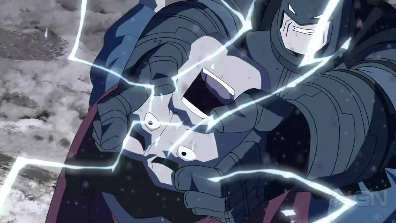 бэтмен возвращение тёмного рыцаря мультфильм часть 1