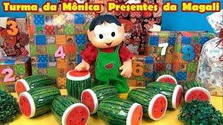Turma da Mônica Presentes da Magali - Escolha 2 números - Brinquedos e Surpresas 4 #gavetinhas