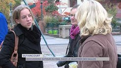 Guyancourt : discussions autour du Mail dans le quartier des Saules