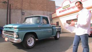 1965 Chevy C10 Pick Up for sale with test drive, driving sounds, and walk through video