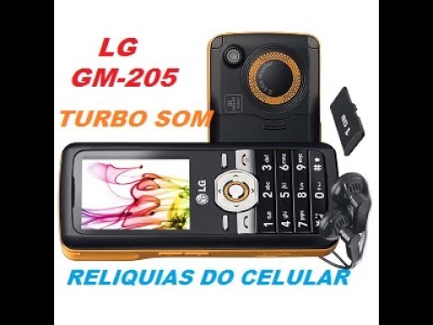 LG GM205 O CELULAR COM O SOM MAIS ALTO DE TODOS RADIO SEM AUXILIO DE FONE RELIQUIAS DO CELULAR 2017