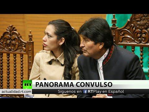 RT en Español: Adriana Salvatierra afirma que el Senado no analizó su renuncia y le impiden el acceso al Parlamento