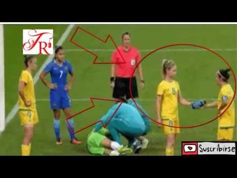 Fútbol Femenino.  ¿Que Paso? ¡¡Muy Gracioso!!