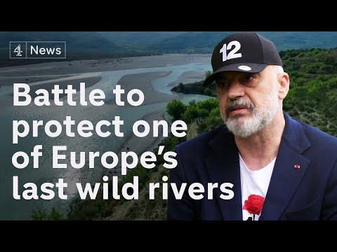 Albanian government under pressure to give wild river protection from hydroelectric dams
