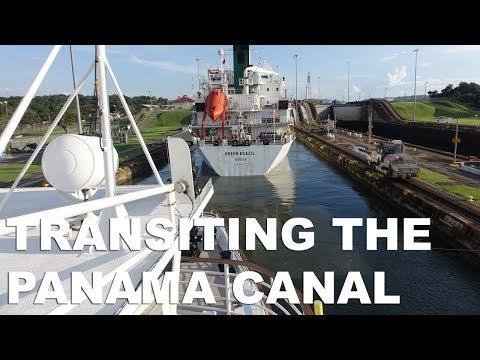 Panama Canal Transit on UnCruise Adventures Safari Voyager