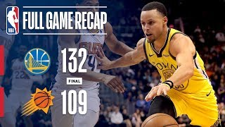 Full Game Recap: Warriors vs Suns | Curry Leads GSW Past PHX