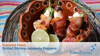 Grilled Shrimp & Jalapeno Poppers