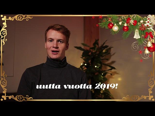 GOsome Oy - joulutervehdysvideo 2018