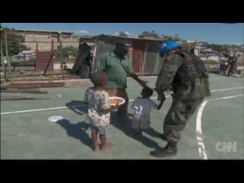 U.N. food aid distribution