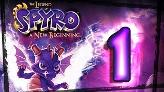 The Legend of Spyro:  A New Beginning Walkthrough Part 1 (PS2, Gamecube, XBOX) Swamp
