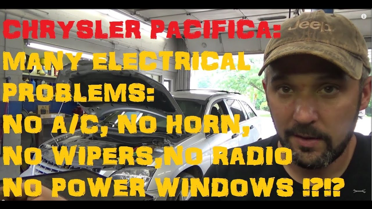 medium resolution of chrysler pacifica tipm electrical problems