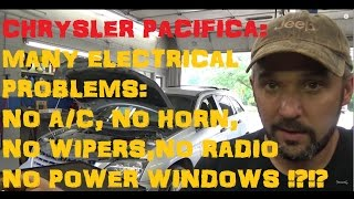 Chrysler Pacifica: TIPM Electrical Problems