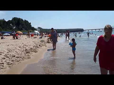 Пляж лагеря Орлёнок 2018