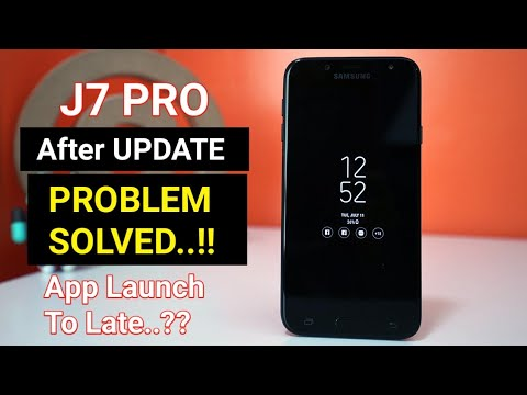 Samsung Galaxy J7 Pro PROBLEM SOLVED !! J7 Pro Many Problems After OTA  Update   Details In Hindi  