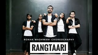 Rangtaari Video Song | Loveratri | Ronak Wadhwani Choreography | Yo Yo Honey Singh | Aayush Sharma