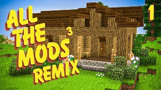 All The Mods 3 Remix Ep. 1 Simple House Maybe