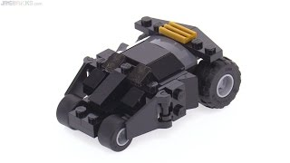 LEGO Super Heroes The Batman Tumbler polybag review!
