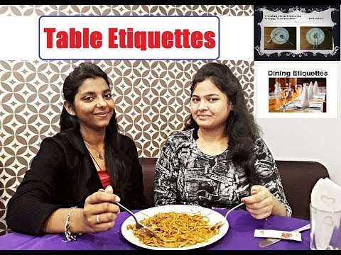 eating manners in hindi