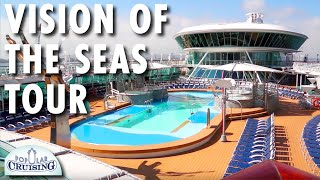 Vision of the Seas Tour ~ Royal Caribbean International ~ Cruise Ship Tour