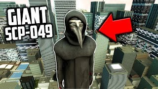GIANT SCP-049 CAUSES ZOMBIE OUTBREAK IN CITY! - Garry's Mod SCP Survival - Gmod SCP Gameplay