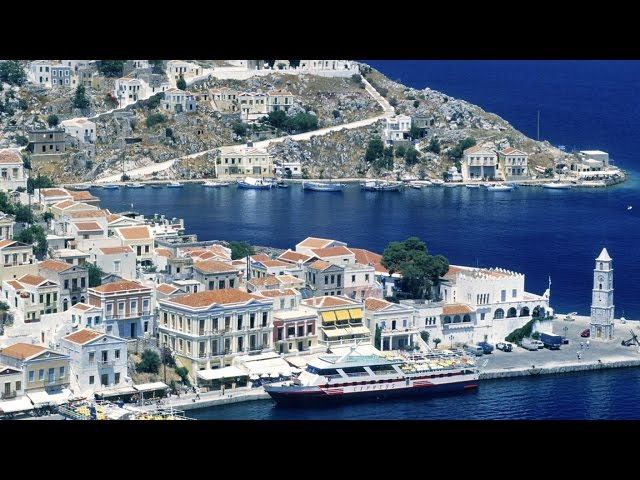 BOAT EXCURSION TO PANORMITIS AND SYMI FROM RHODES, GREECE, JUNE 2015