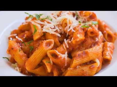 SPICY RED SAUCE PASTA