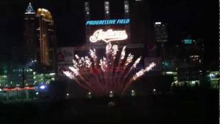 Cleveland Indians fireworks set to Elvis music
