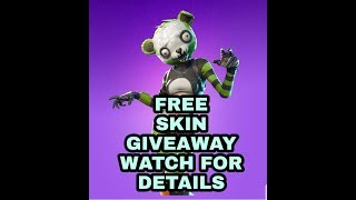 Fortnite Skin giveaway is upon us see