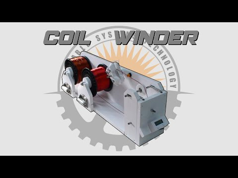 🛠 Make A DIY Coil Winder - Plans Available 📄